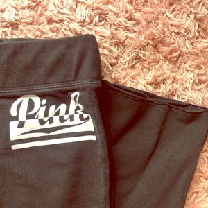 pink (victoria secret) sweat pants
